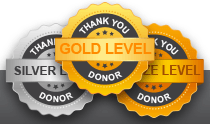 Donor Level Medals
